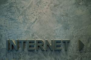 Internet-Schild