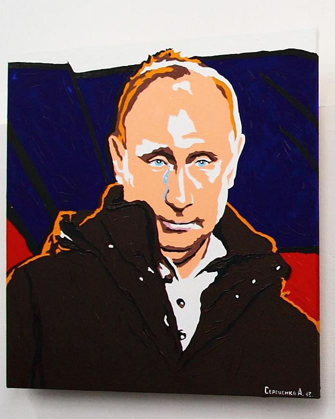 Gemälde von Wladimir Putin