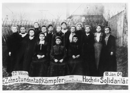 Frauen aus Crimmitschau