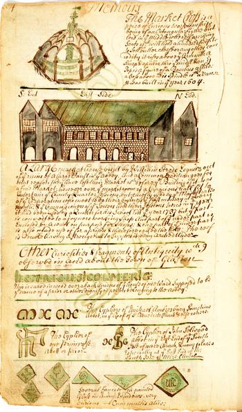 Auszug aus dem handschriftlichen Tagebuch von John Cannon