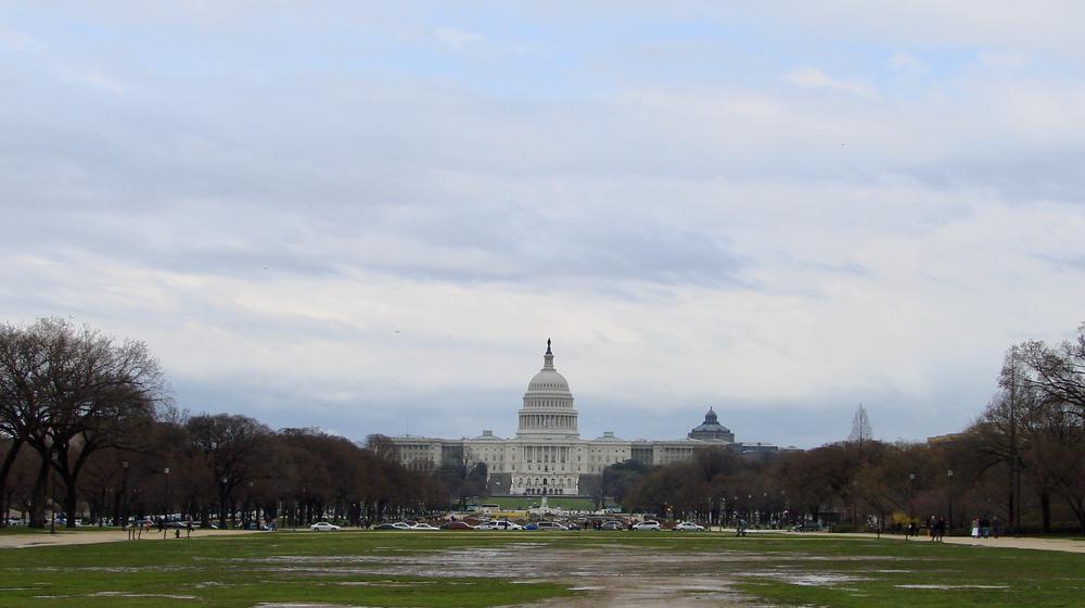 Das Gebäude des US-Kongresses