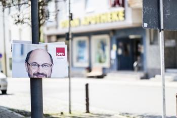 Wahlplakat von Martin Schulz