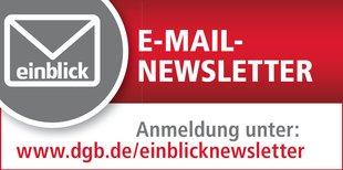 einblick Newsletter abonnieren