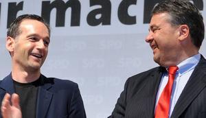 Sigmar Gabriel und Heiko Maas