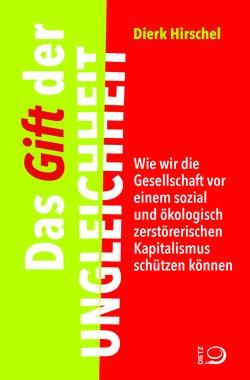 Buchumschlag, linkes Drittel grün, Rest Rot mit dem Titel vertikal aufgedruckt