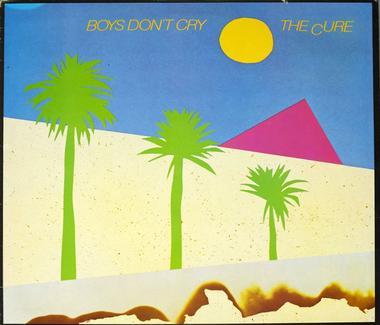 Plattencover von Boys don't cry, einem Album der Band The Cure aus dem Jahr 1980