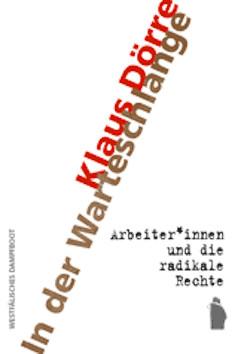 """Buchumschlag von Klaus Dörres Buch """"In der Warteschlange"""""""