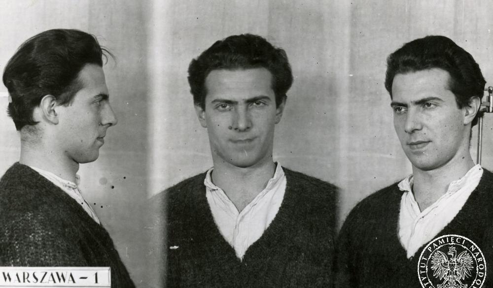 Polizeifotos von Karol Modzelewski aus dem Jahr 1964.