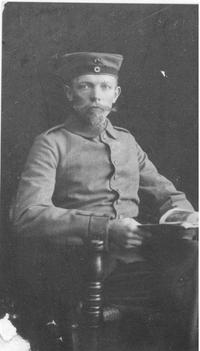 Fritz Husemann im Ersten Weltkrieg