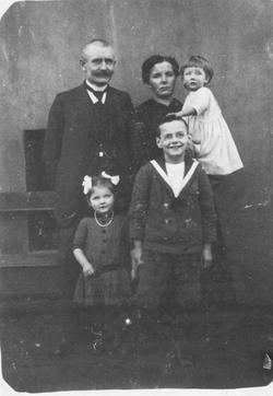 Familie Franziska und Heinrich Imbusch