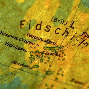 Seekarte der Fifschi-Inseln