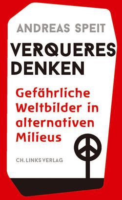 Buchumschlag des besprochenen Buches, reine Textlösung in Rot und Schwarz