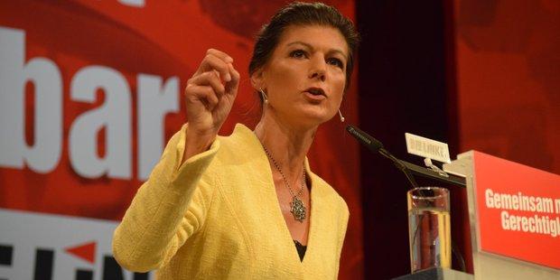Linken-Politikerin Sahra Wagenknecht