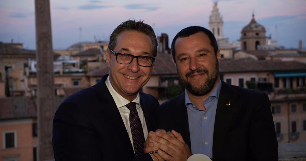 Matteo Salvini und Heinz-Christian Strache