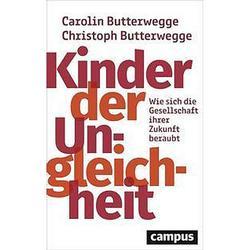 """Umschlag des Buches """"Kinder der Ungleichheit"""", das nur den Titel und die Autoren in Text enthält."""