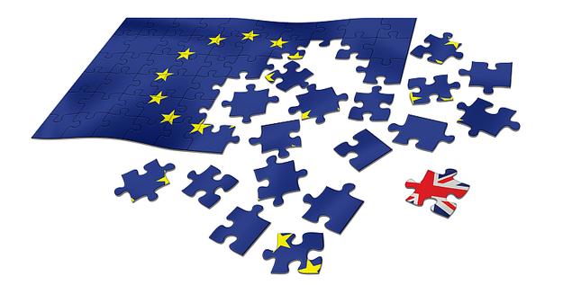 Puzzle Europäische Union Großbritannien