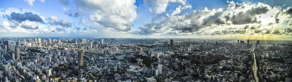 Panorama von Tokyo