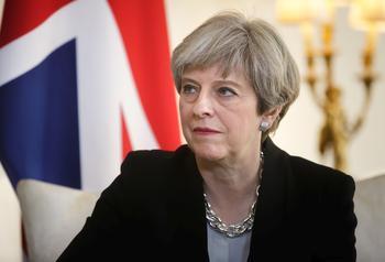 Britische Premierministerin Teresa May