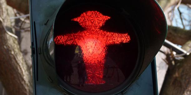 Foto rote Ampel