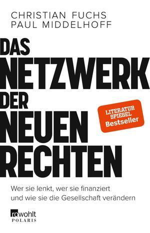 """Buchumschlag """"Das Netzwerk der Neuen Rechten""""."""