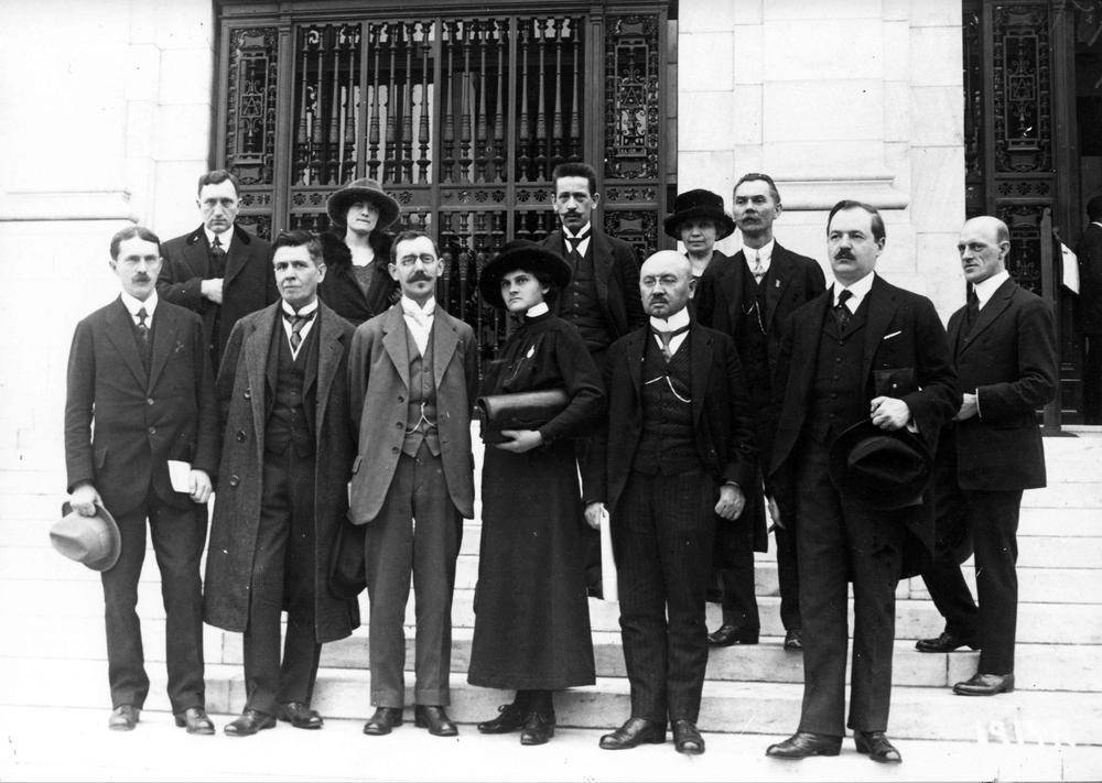 Gündungsdelegierte der Internationalen Arbeitsorganisation 1919