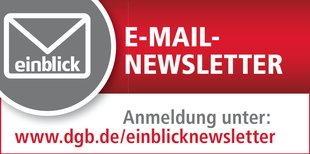 einblick Newsletter anmelden