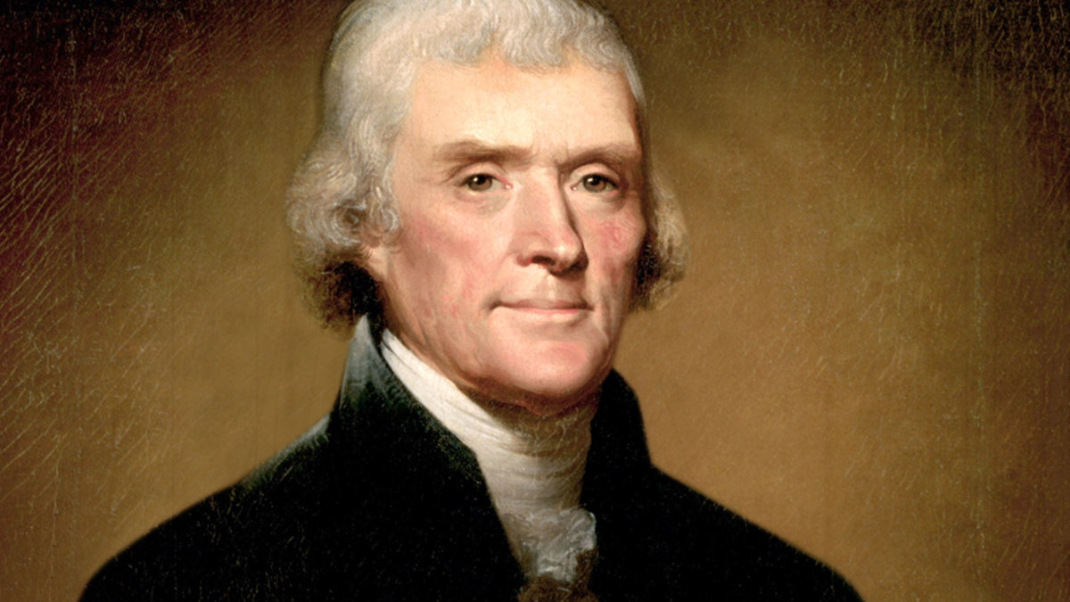 Ölgemälde von Thomas Jefferson