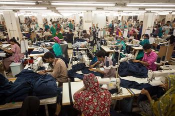 Textilfabrik in Pakistan