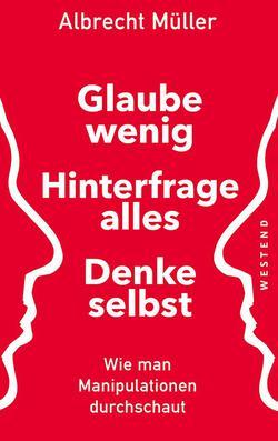 Buchumschlag des neuen Buches von Albrecht Müller
