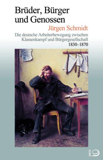 """Buchumschlag von """"Brüder, Bürger und Genossen""""."""