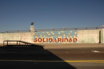 Wandtext Solidaridad